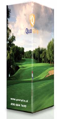 bedrukte sleeve golfballendoosje