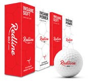 6 soft en 6 power golfballen