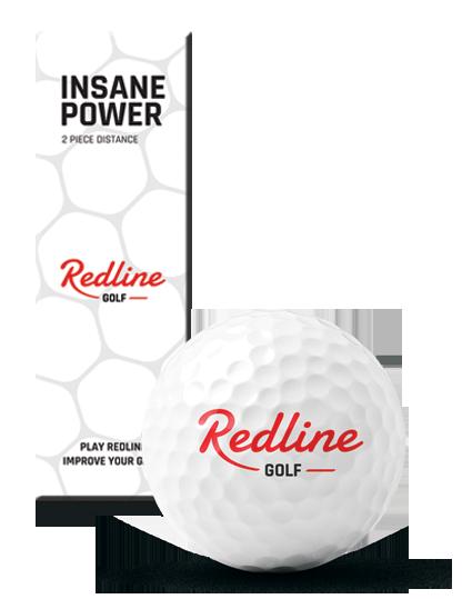Redline Insane golf balls