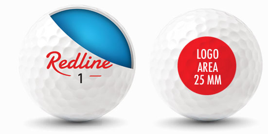 golfballen bedrukken via tampondruk
