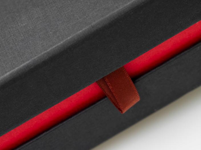golfcadeau box XL met ribbon