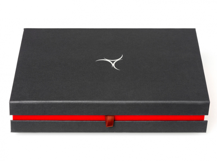 golfcadeau box XL met rode lijn
