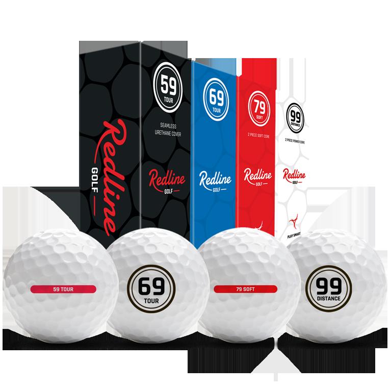 testbox met 59 69 79 99 golfballen