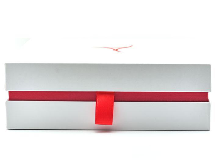 Golfcadeaubox met rode zijn