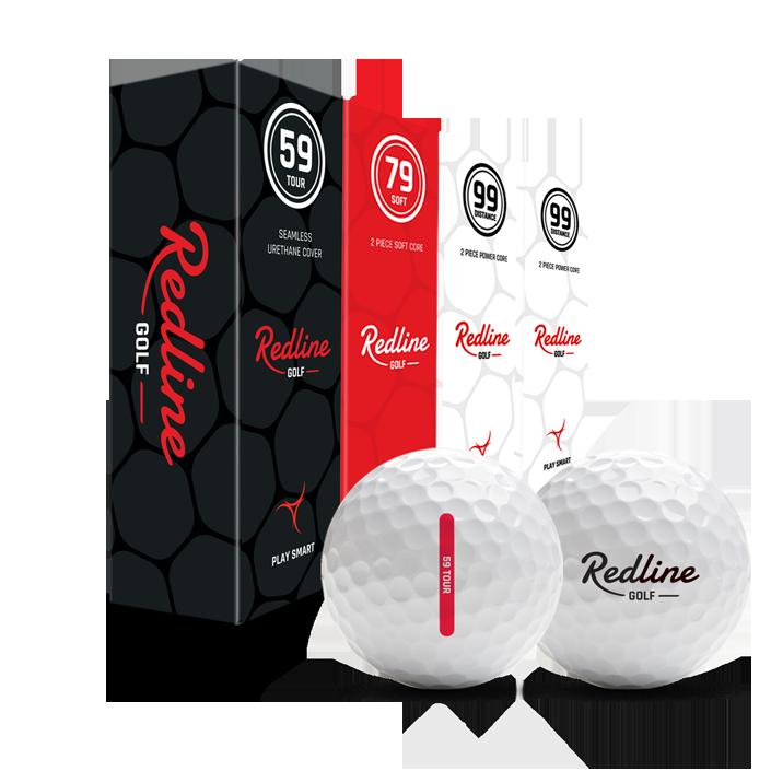Probeer Redline golfballen