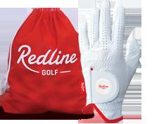 gratis golfhandschoen bij 5 dozijn Redline golfballen